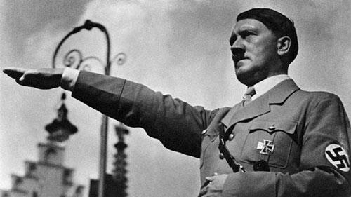 Adolf Hitler quando era al culmine del potere