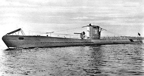 Un U-Boot tedesco della Seconda Guerra Mondiale