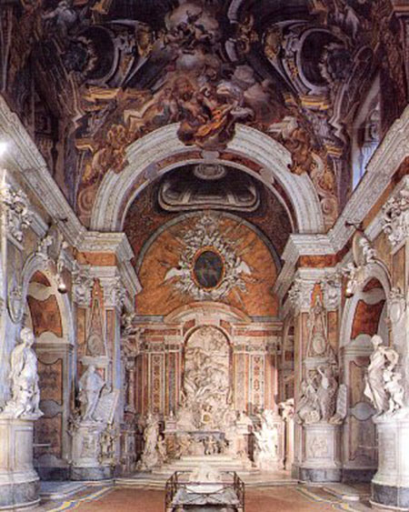 The San Severo chapel in Naples (Italy)