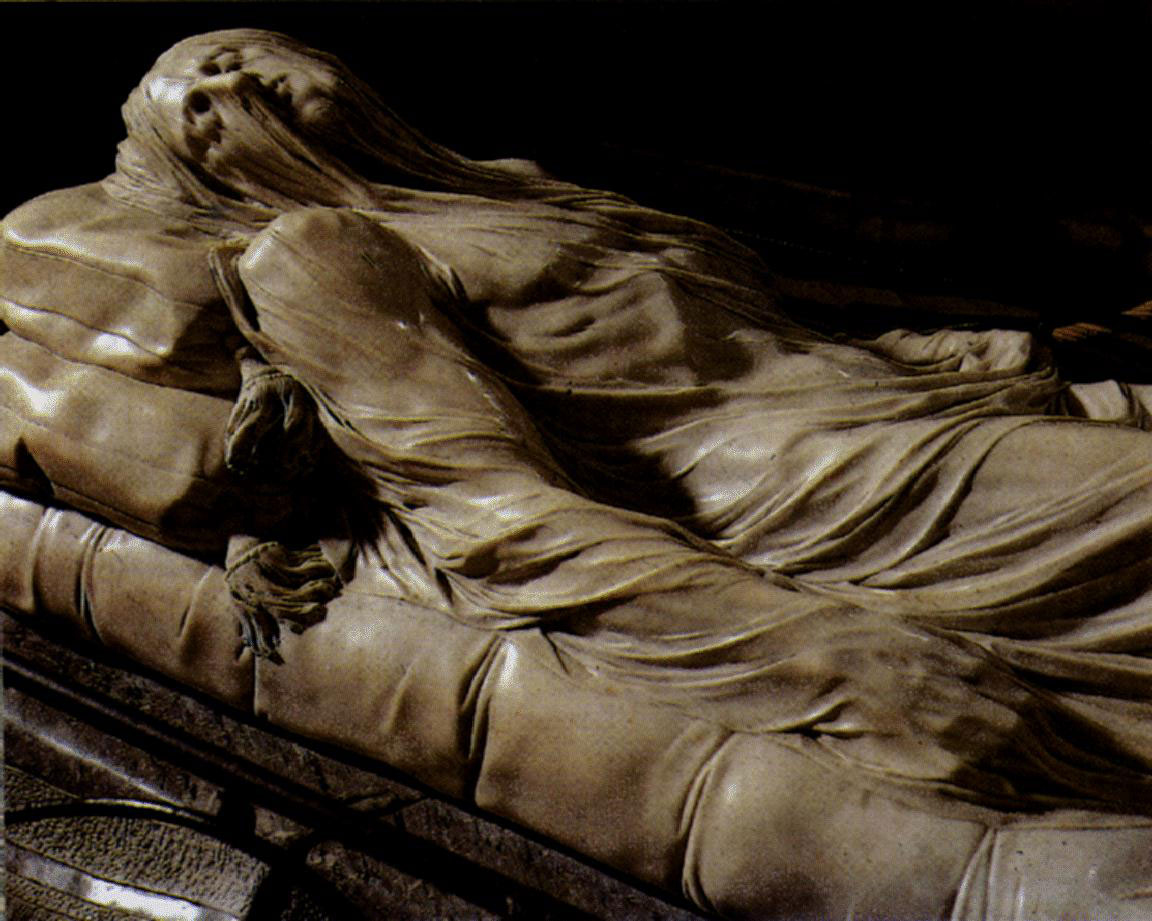 The veiled Christ by Sammartino